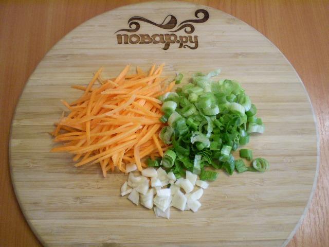 Картофель с капустой