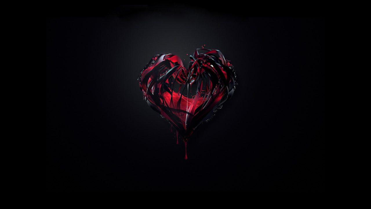 Тату в виде сердца: на руке, запястье, пальце, с крыльями, маленькие, разбитое сердце, на груди, черное, кардиограмма, пульс, с розой, чернильное. Значение и эскизы + 115 ФОТО