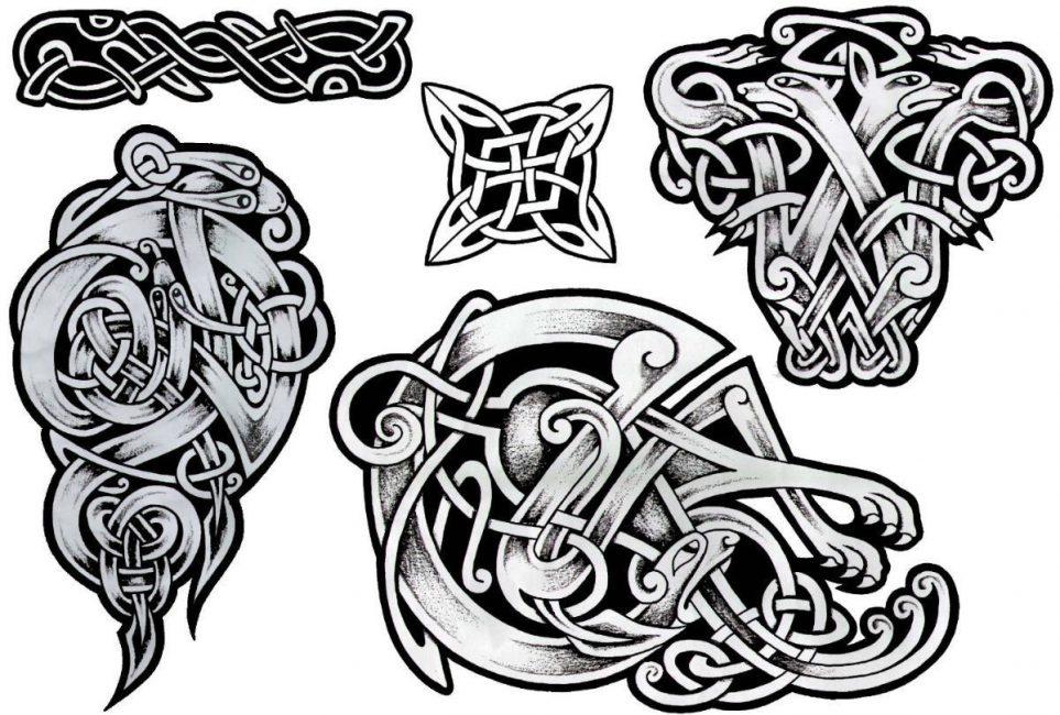 Кельтские узоры – плетение, означающее бесконечность