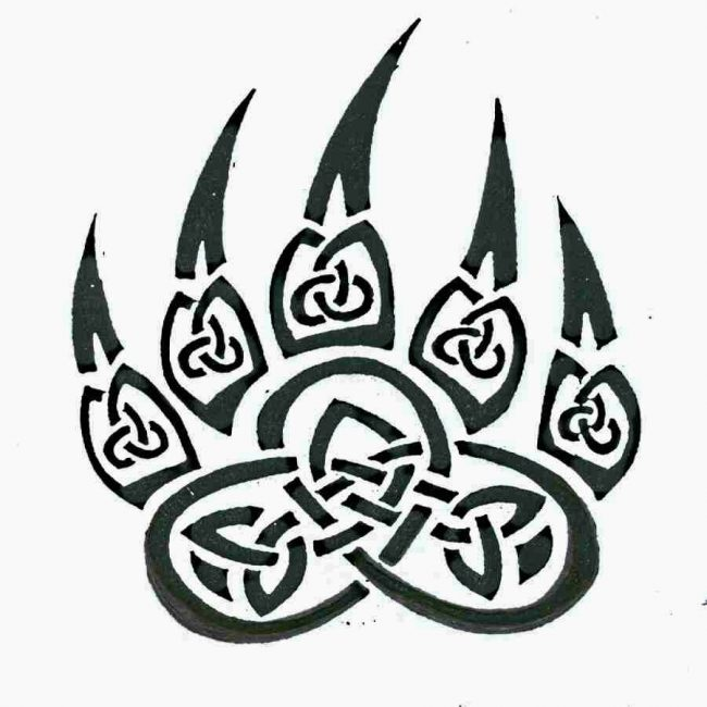 Животная тематика кельтского тату