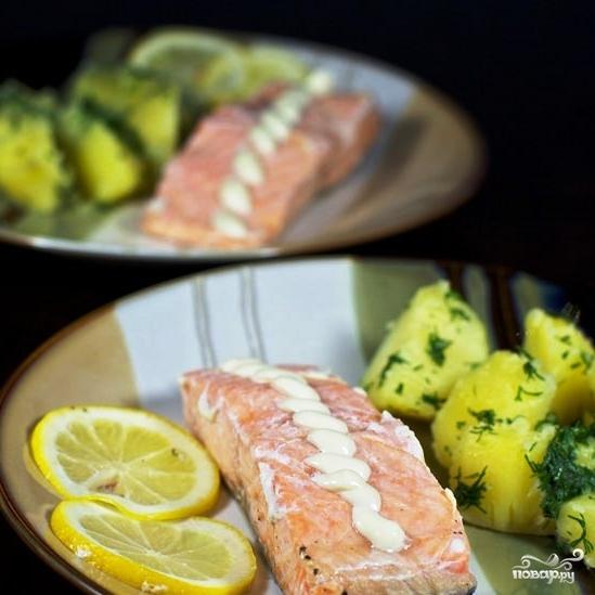 Семга в фольге: стейк запеченный в духовке, с овощами, картошкой, лимоном, на углях. ТОП-4 лучших пошаговых рецептов + ФОТО