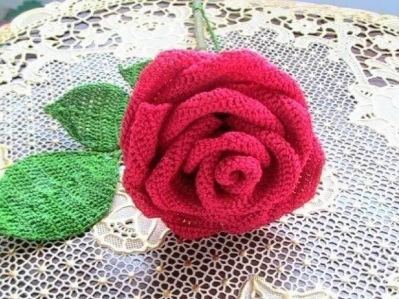 Роза в сборе
