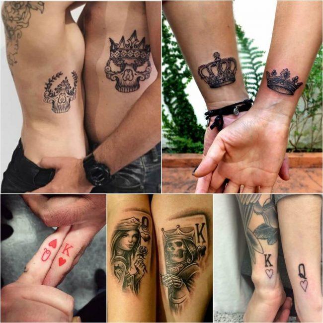 Идеи парных татуировок