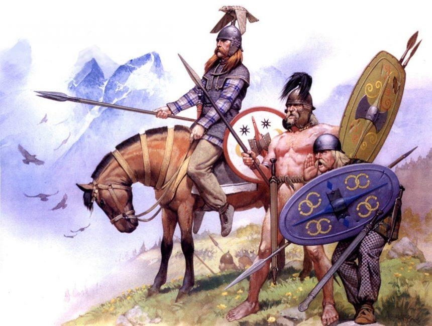 Изображение древних кельтов