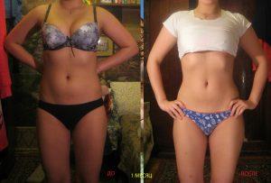 Белковая диета: До и После