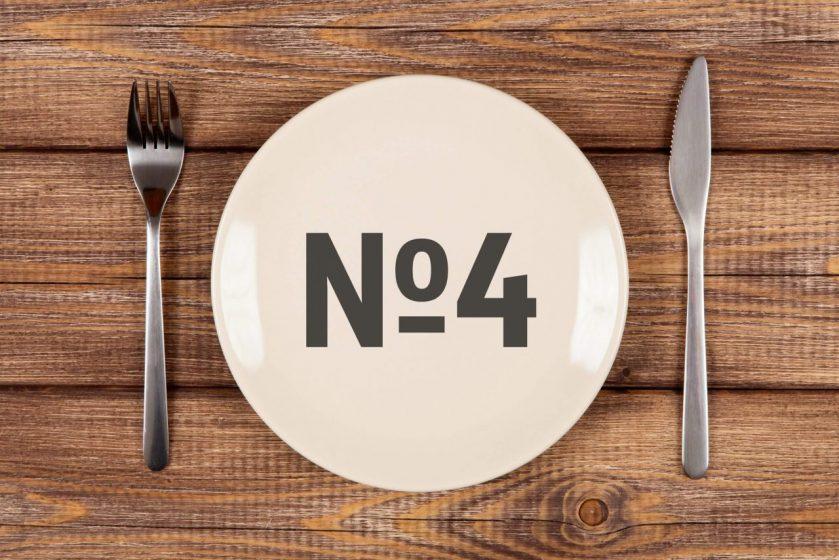 """Диета """"Стол 4"""": питание при колитах и заболеваниях кишечника + Таблицы и меню на 7 дней"""