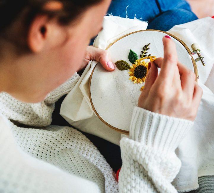Вышивка — отличное хобби
