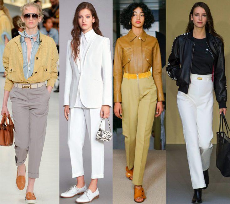 Модные тенденции в брюках