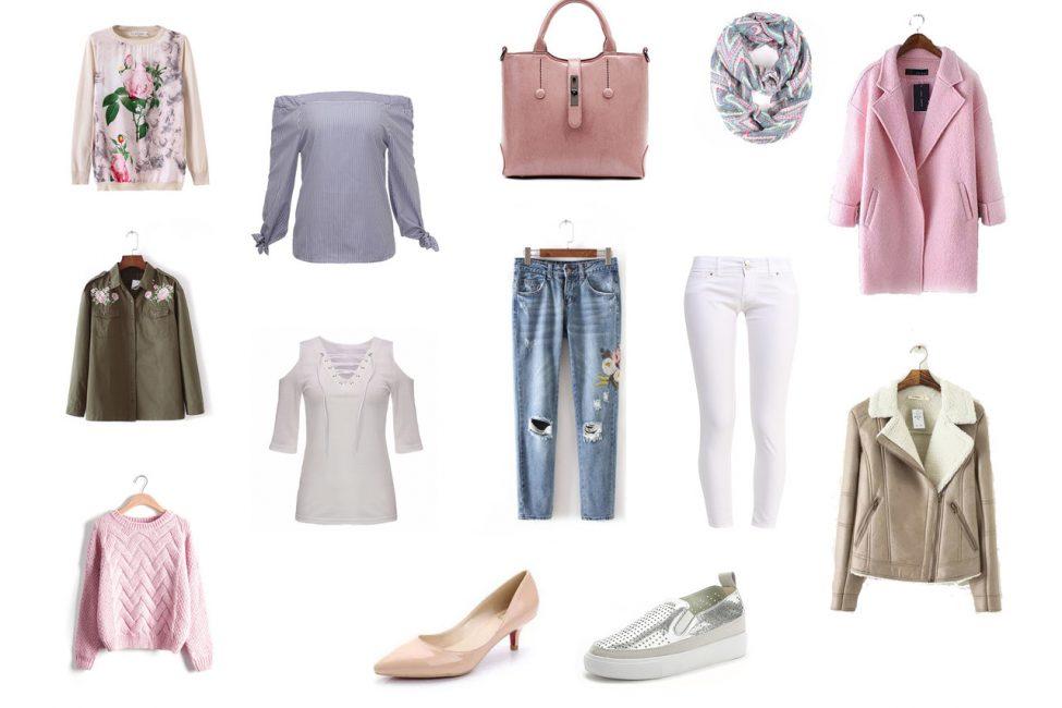 Стильный набор одежды