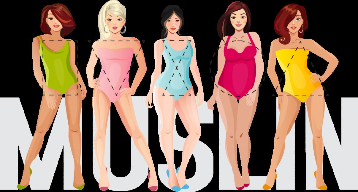Пять типов фигуры