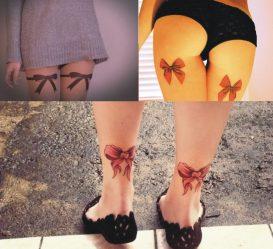 Тату на ноге для девушек. Самые модные эскизы + 120 ФОТО
