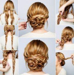 Прическа пучок: на длинные, средние, короткие, распущенные волосы, на свадьбу, выпускной + 160 ФОТО
