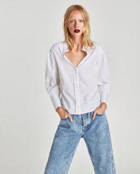 С чем носить женскую рубашку? Белые, длинные, джинсовые, в полоску, в клетку + 140 ФОТО