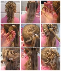 Красивые прически для девочек на выпускной в школу, детский сад на длинные, короткие, средние волосы + 270 ФОТО