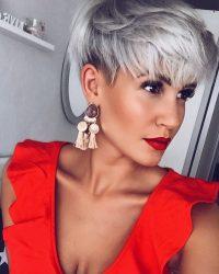Модная женская стрижка волос пикси на средние и короткие волосы в 2018 году + 145 ФОТО