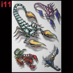 Что означает тату скорпиона: на руке, шее, лопатке, ноге, груди, знак зодиака, маленькая, армейская, 3Д. Эскизы для девушек и мужчин + 100 ФОТО