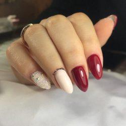 Ногти миндалевидной формы: стильный дизайн в 2018 году + 115 ФОТО