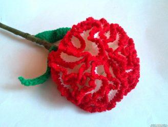 Вязаные цветы крючком: объемные, в горшочках, для украшения, схемы, описание и мастер-классы для начинающих + 125 ФОТО и ВИДЕО
