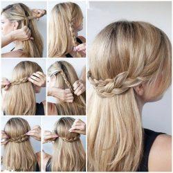 ТОП-11 красивых причесок для девочек с распущенными волосами в школу, на каждый день + 90 ФОТО