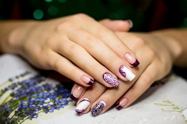 Простые рисунки на ногтях: маникюр в домашних условиях для начинающих + 100 ФОТО
