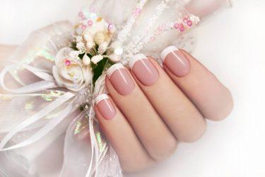 Красивый маникюр на свадьбу невесте в 2018 году: нежный, френч, белый, на короткие ногти + 100 ФОТО