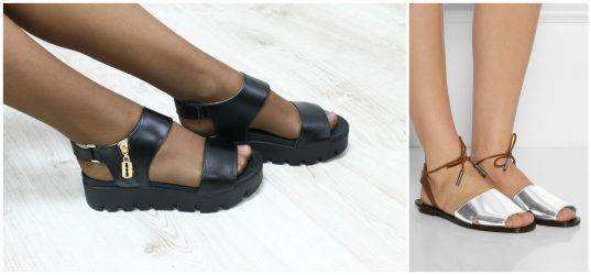 Модные женские босоножки на лето 2018 года: на каблуке, танкетке, на платформе. С чем носить босоножки + 125 ФОТО