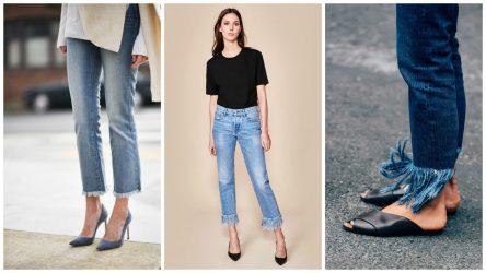 Модные красивые джинсы 2018 женские: тренды, новинки, бойфренды, рваные, бананы + 115 ФОТО