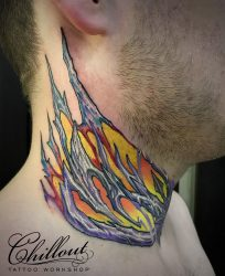 Красивые тату на шее: ТОП-7 лучших татуировок сзади, на боку, маленькие, крылья, крест, корона, птицы, скорпион, дракон, сова, ласточка, штрих-код, корона, значение. Лучшие эскизы + 115 ФОТО