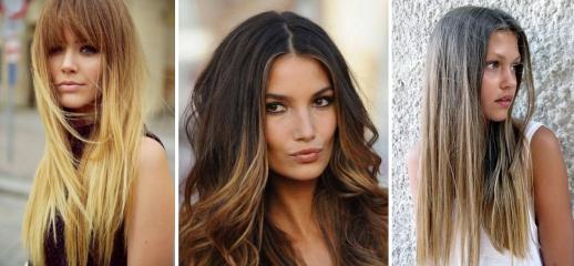 Модные женские стрижки на длинные волосы в 2018 году: с челкой, без, лесенкой + 115 ФОТО