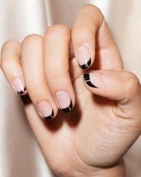 Модный французский маникюр в 2018 году: дизайн, новинки, на длинные и короткие ногти, гель лаком + 165 ФОТО