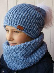Шапки спицами: схема и описание шапок для женщин и девочек + 90 ФОТО