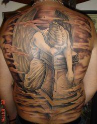 Значение тату с крыльями ангела: на спине, руке, шее для девушек и мужчин. Эскизы + 120 ФОТО