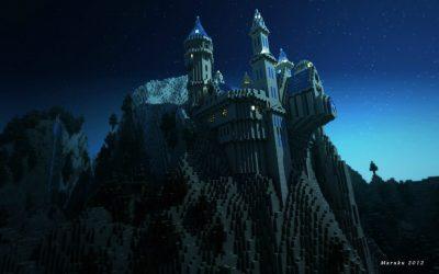 Как построить замок в Майнкрафте, ТОП-10 советов + 100 ФОТО