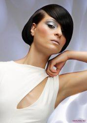 Красивая укладка с челкой: прямой, на длинные, средние, короткие волосы, стрижки, каре, каскад, в домашних условиях, средства для укладки + 130 ФОТО