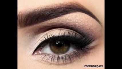 Макияж глаз: косметика для карих, зеленых и голубых глаз + 50 ФОТО