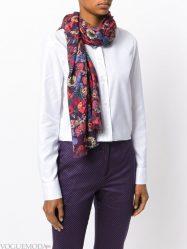Как красиво и оригинально завязать на шею шарф или платок? Различные способы + 70 ФОТО