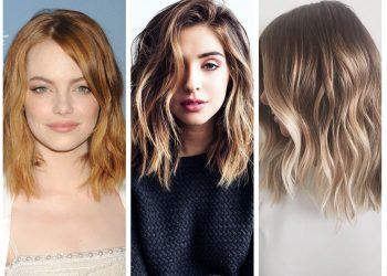 Модные и стильные стрижки на средние волосы в 2018 году: с челкой, каре, боб, каскад, лесенка + 120 ФОТО