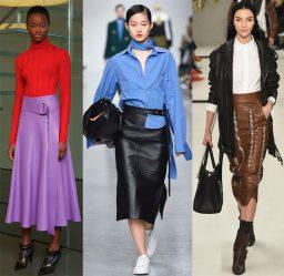 Модные юбки: тенденции 2018 года. Юбки для лета, весны, джинсовые + 205 ФОТО