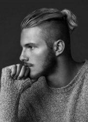 Модные мужские прически 2018. Как сделать прическу мужчине + 100 ФОТО